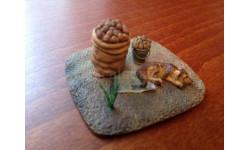 Сарлаб Виньетка, тема 'Урожай' картошка