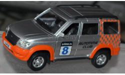 УАЗ-3163 Патриот с тамповкой, масштабная модель, scale43, Autotime Collection