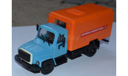 ГАЗ-3307 Аварийная газовая служба, масштабная модель, scale43, Компаньон