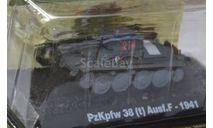 PzKpfw38(t) Ausf.F, журнальная серия Танки Мира 1:72, scale72