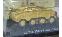 Sd.Kfz.234/2 Puma, журнальная серия Танки Мира 1:72, 1/72