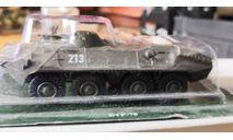 БТР-70, журнальная серия Русские танки (GeFabbri) 1:72, scale72