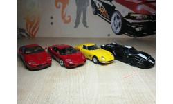 FERRARI НАБОРОМ 4 модели, журнальная серия Ferrari Collection (GeFabbri), Ferrari Collection (Ge Fabbri), scale43