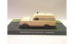 1/43 Mercedes-Benz Binz Ambulance Altaya Ixo, масштабная модель, scale43