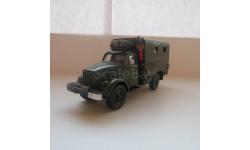 ГАЗ 63 фургон-радиостанция, масштабная модель, Конверсии мастеров-одиночек, scale43