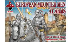 Redbox 72047 - Война Роз - Европейская тяжелая кавалерия, 1/72, миниатюры, фигуры, scale72