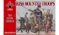 Redbox 72055 - Война Роз - Ирландская кавалерия, 1/72, миниатюры, фигуры, scale72