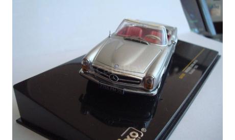 Mercedes - Benz  230SL ( W113 ) Roadster 1963 год, масштабная модель, 1:43, 1/43, IXO Road (серии MOC, CLC), Mercedes-Benz