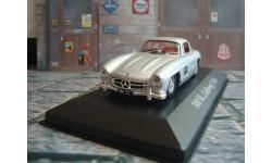Mercedes - Benz  300 SL  '  Gullwing  '  1954 год, масштабная модель, 1:43, 1/43, Altaya, Mercedes-Benz