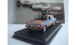 Mercedes - Benz  W123  ГАИ  СССР