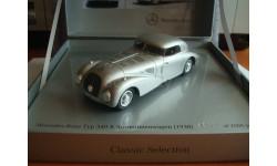 Mercedes - Beenz  540K Stromlinienwagen W29  1938 год
