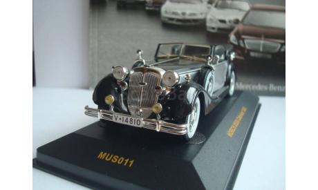 HORCH 853A Cabriolet 1938 год, масштабная модель, 1:43, 1/43, IXO Museum (серия MUS)
