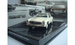 Mercedes - Benz 230 SL with Hardtop ( W113 ) Presentation IAA Frankfurt 1963 год