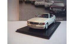 BB  Mercedes 500 Magic Top 1985 год, масштабная модель, 1:43, 1/43, NEO, Mercedes-Benz