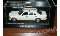Mercedes S Class 500SE 1979 Taxi minichamps