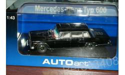Mercedes S Class Typ 600 SWB W100 AutoArt