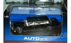 Mercedes S Class Typ 600 LWB W100 AutoArt