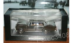 MERCEDES-BENZ 190 (W 110), BROWN 1961 minichamps, масштабная модель, 1:43, 1/43