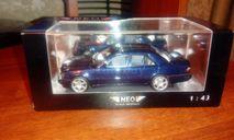Mercedes-Benz AMG E60 (W124) blue metallic, масштабная модель, Neo Scale Models, scale43