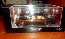 Mercedes-Benz 280E W123 AMG коричневый, масштабная модель, Neo Scale Models, scale43
