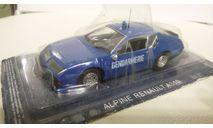 ALPINE RENAULT A310, масштабная модель, Полицейские машины мира, Deagostini, scale43