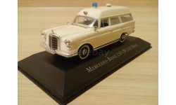 MERCEDES BENZ 230 W110 BINZ AMBULANCE., масштабная модель, Mercedes-Benz, Atlas, 1:43, 1/43