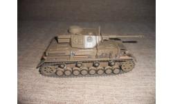 Pz.Kpfw. IV Ausf. G (Sd.Kfz. 161/1) 10 Pz.D. Tunisia 1943, масштабные модели бронетехники, 1:43, 1/43, DeAgostini (военная серия)