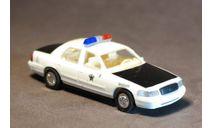 Полицейский автомобиль Ford Crown Victoria, США., масштабная модель, Trident, 1:87, 1/87