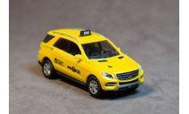 Автомобиль такси Mercedes-Benz ML-Klasse, NYC taxi, США., масштабная модель, Busch, 1:87, 1/87