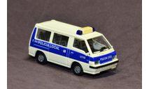 Полицейский микроавтобус Mitsubishi L300 (Delica), Италия., масштабная модель, Rietze, 1:87, 1/87
