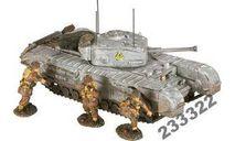 Churcill MK.VII tank s 3 figures 1944 (СORGI)1:50, масштабные модели бронетехники, scale50
