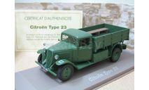 Citroen Type 23(Atlas)143 серия 2М.В.№030, масштабные модели бронетехники, Citroën, scale43