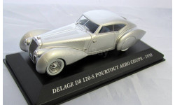 Delage D8 120-s pourtout Aero COUPE 1938( Altaya) 1:43