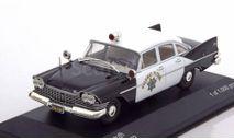 Plymouth Savoy,California Highway Patrol(WhiteBox)143, масштабная модель, 1:43, 1/43