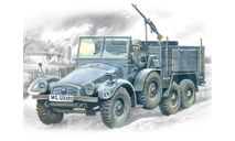 72451 Krupp L2H143 Kfz.70, Герм. легкий груз. автомобиль ICM 1:72, сборные модели бронетехники, танков, бтт, scale72