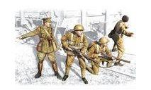 35301 Фигуры, Британская пехота, 1917-1918 icm 1/35, миниатюры, фигуры, scale35