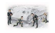 35211 Фигуры, Немецкий танковый экипаж 1943-1945, 1:35 ICM, миниатюры, фигуры, scale35