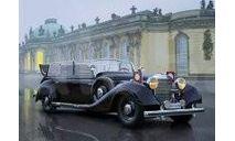 35533 Typ 770K (W150) Tourenwagen, германский персональный автомобиль,, сборная модель автомобиля, ICM, scale35