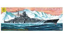 135029 Сборная модель: Линкор 'БИСМАРК' 1:350 (моделист), сборные модели кораблей, флота, scale500