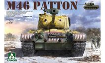 сборная модель   2117 US Medium Tank M-46 Patton 1:35 TAKOM, сборные модели бронетехники, танков, бтт, scale35