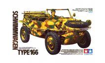 35224 Немецкая амфибия Schwimmwagen Тype166 с 1 фигурой (1:35)TAMIYA, сборные модели бронетехники, танков, бтт, scale0