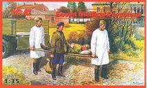 35551 Фигурки Советский медицинский персонал, 2МБ ICM, миниатюры, фигуры, scale35