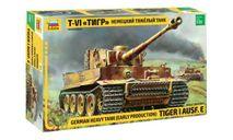 3646 Немецкий тяжелый танк Т-VI 'Тигр' 1:35 ЗВЕЗДА, сборные модели бронетехники, танков, бтт, scale35