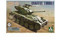 сборная модель  2063 Танк French Light Tank AMX-13 Chaffe Turret in Algerian War (1954-1962) 1:35 TAKOM, сборные модели бронетехники, танков, бтт, scale35