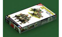 84420 German Infantry - Taking a rest 1:35 Hobby Boss сборная модель, миниатюры, фигуры, scale35