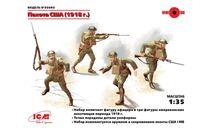 35693 Пехота США (1918 г.) ICM 1:35, миниатюры, фигуры, scale35