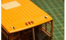 71. ИКАРУС 200 семейства. Фонарь габаритный красный 1.370.1-000  (Три А Студио) цена за 1 шт., запчасти для масштабных моделей, Ikarus, scale43