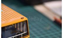 71/2. ИКАРУС 200 семейства. Фонарь габаритный белый 1.370.3-000  (Три А Студио) цена за 1 шт., запчасти для масштабных моделей, Ikarus, scale43