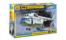 7254 Российский вертолёт МЧС МИ-8, 1:72, ЗВЕЗДА, сборные модели авиации, scale72