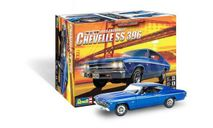 14492 69 Chevelle SS 396 1:25 Revell сборная модель, сборная модель автомобиля, Revell (модели), scale24, Chevrolet